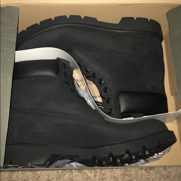 Black Timberland Boots Brand New in Box Size 11 NWT